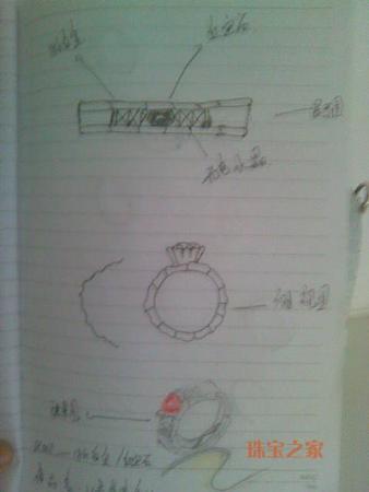 珠宝手绘图
